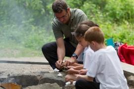 Bush craft activities for schools
