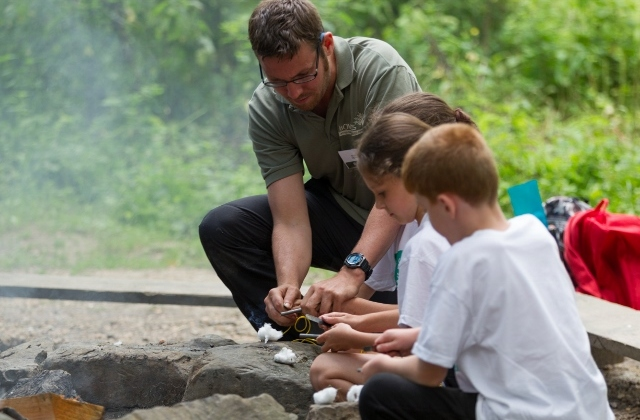 Bush craft activities for schools