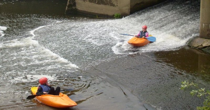 School Kayaking in South East england