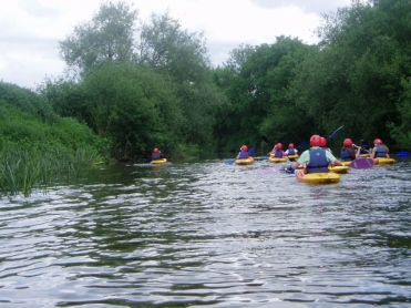 GCSE and BTEC kayaking