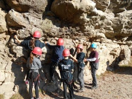 Bouldering teamwork