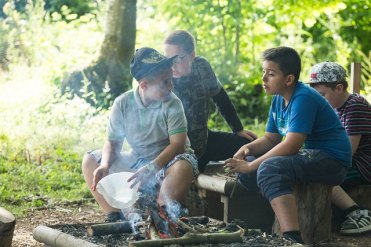 Firelighting in Bushcraft