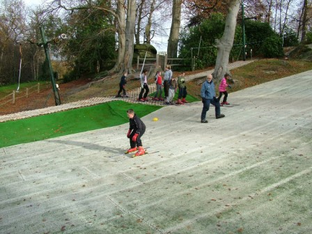 Beginner lessons on our nursery slope