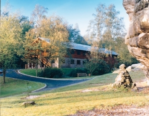 LODGE BUILDING- schools residential trips