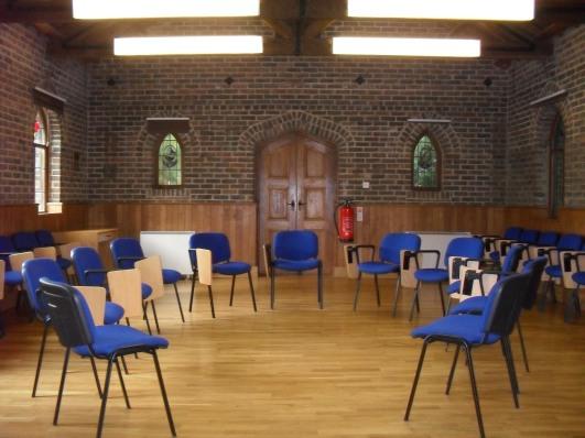 Bowles Chapel (inside classroom)
