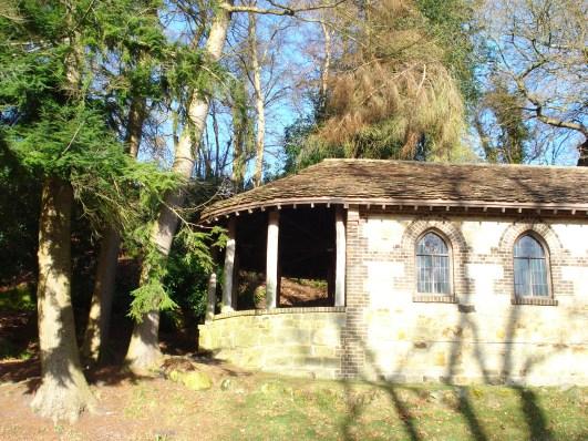 chapel in sunshine